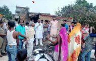 अग्नि पीड़ितों को भाजपा विधायक दयाराम चौधरी ने दी सहायता