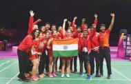 थामस व उबेर कप के लिए भारतीय बैडमिंटन टीम घोषित