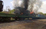 MP : मालगाड़ी में अचानक लगी भीषण आग , सेना के 10 ट्रक जलकर खाक