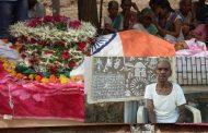 पालघर : पंचतत्व में विलीन हुए वारली चित्रकार जिव्या सोमा मशे , राजकीय सम्मान के साथ हुआ अंतिम संस्कार
