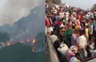 आग पर काबू पाने के बाद दोबारा शुरू हुई वैष्णो देवी यात्रा