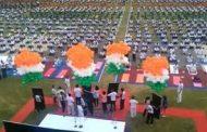 जबलपुर : अंतरराष्ट्रीय योग दिवस पर 5 हजार जवानों ने किया एक साथ योग