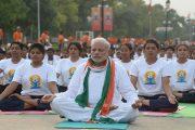 दुनिया को जोड़ने और भारत का मान बढ़ाने में योग मददगार : प्रधानमंत्री