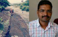 सामाजिक कार्यकर्ता संदीप पाटिल ने खुद के खर्चे से करवाई नाले की सफाई,लोगो ने ली राहत की साँस