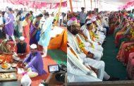 बालासाहेब ठाकरे कन्यादान योजना के अंर्तगत 151आदिवासी जोड़ो का विवाह संपन्न