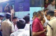 कामाख्या एक्सप्रेस में एसी खराब होने पर यात्रियों ने किया हंगामा