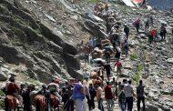 अमरनाथ यात्रा का आठवां जत्था जम्मू से रवाना