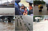 पालघर जिला में मूसलाधार बारिश वेस्टर्न रेलवे ठप्प , घरो ,सड़को पर भरा पानी , जीवन हुवा अस्त व्यस्त