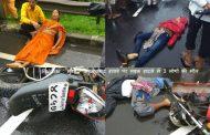 पालघर जिला: मुंबई - अहमदाबाद हायवे पर इनोव्हा कार ,कंटेनर और  मोटरसायकल में भीषण टक्कर, हादसे में 3 लोगों की मौत