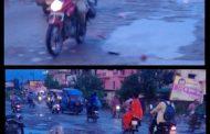 सड़कें खोल रही विकास के दावों की पोल