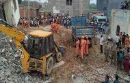 अहमदाबाद में चार मंजिला इमारत गिरी , 1 की मौत , मलबे को हटाने का काम अभी भी जारी...