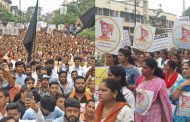 पालघर जिला : वैभव राउत के समर्थन में निकली आक्रोश रैली