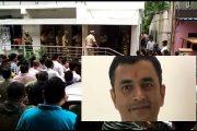 वैभव राउत के घर दोबारा मुंबई एटीएस की दस्तक , जांच के बाद साथ ले गए ..........