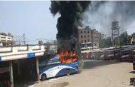 जब PM मोदी से नहीं मिल पायी महिला तो बस में लगा दी आग !