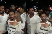 पालघर में गणपति विसर्जन के दौरान पुलिस अधिकारी ने की गणेश भक्तों की पिटाई , फैला तनाव