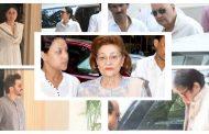 कृष्णा राज कपूर के अंतिम संस्कार में बॉलीवुड सितारों का लगा जमावड़ा , पहुंचे ये सितारे ........