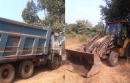 पालघर जिला : अवैध रेती उत्खनन मामले में पुलिस की बड़ी कार्रवाई , लाखों का वाहन सहित रेती जप्त