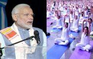 'योग फॉर पीस'कार्यक्रम : दिमाग और शरीर को फिट रखता है योग : PM मोदी