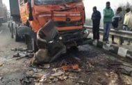 भीषणसड़क हादसा: कोहरे की वजह से फ्लाईओवर पर आपस में टकराई 50 गाड़ियां , 8 की मौत ,कई घायल