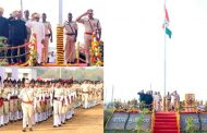 पालघर में बड़े धूमधाम से मनाया गया 69वा गणतंत्र दिवस,मंत्री विष्णु सावरा ने किया पांचवी बार झंडा वंदन