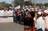 पालघर : ''कवी'' को लेकर पालघर कलेक्टर ऑफिस पर मछुवारों का मोर्चा, खूनी संघर्ष के बाद भी सरकार की नहीं खुली आंख