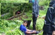 पालघर: इनोवा कार ने बाइक सवार दो पुलिस कर्मियों को मारी ठोकर ,पुलिस कर्मी का पैर टूटा