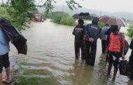पालघर जिला : तूफानी बारिश से हुवा जनजीवन अस्त-व्यस्त , सड़कें तालाब में हुई तब्दील, स्मार्ट गाय ने बचाई अपनी जान