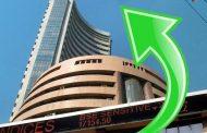 शेयर बाजार भारी उछाल,  सेंसेक्स 453 अंक चढ़ा