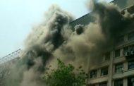 मुंबई के GST भवन में लगी आग, मौके पर पहुंची दमकल की 8 गाड़ियां