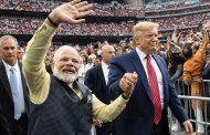 दो दिवसीय भारत दौरे पर अहमदाबाद पहुंचे ट्रंप, मोटेरा स्टेडियम में मोदी-ट्रंप का भाषण देना शुरू