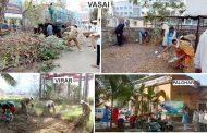 पालघर सरकारी अस्पताल में संत निरंकारी मिशन का स्वच्छता अभियान