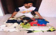 एथलीटों की मदद करने के लिए शिवम ठाकुर ने अपनी यादगार चीजों को नीलाम करने का फैसला लिया