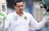 दक्षिण अफ्रीका के पुरुष क्रिकेटर ऑफ द ईयर चुने गए क्विंटन डी कॉक