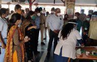 पालघर डीएम डॉ. मानिक गुरसल ने किया रेलवे स्टेशन का निरिक्षण , जिले में दुबारा कोरोना पीड़ितों की संख्या में आई तेजी