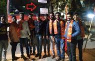औरंगाबाद के नामकरण को लेकर मचा है सियासी घमासान , मनसे हुई आक्रामक बस रोक कर लगाया छत्रपति संभाजीनगर का पाटिया