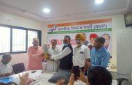 नागरिक विकास पार्टी ने मनाया शिवाजी महाराज की जयंती