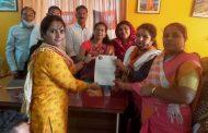 पालघर भाजपा शहर महिला मंडल अघाड़ी के जनरलसेक्रेटरी पद पर वंदना अनुज सिंह की नियुक्ति