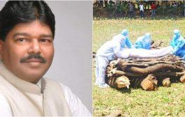 पीपीई कीट के साए में किया गया भाजपा के पूर्व विधायक पास्कल धनारे का अंतिम संस्कार