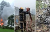 दहानू - पटाखे कंपनी में भीषण आग, 10 कामगार जख्मी एक कि हालत चिंता जनक ,ब्लास्ट में कामगारों की मोटरसाइकिलें उड़ कर गिरी झाड़ियों में